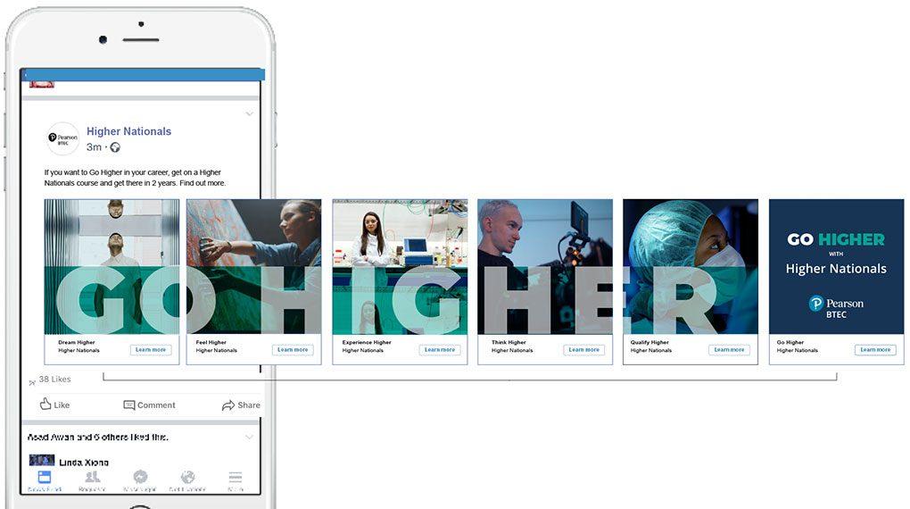 BTEC Higher Nationals 2020 Facebook Ad